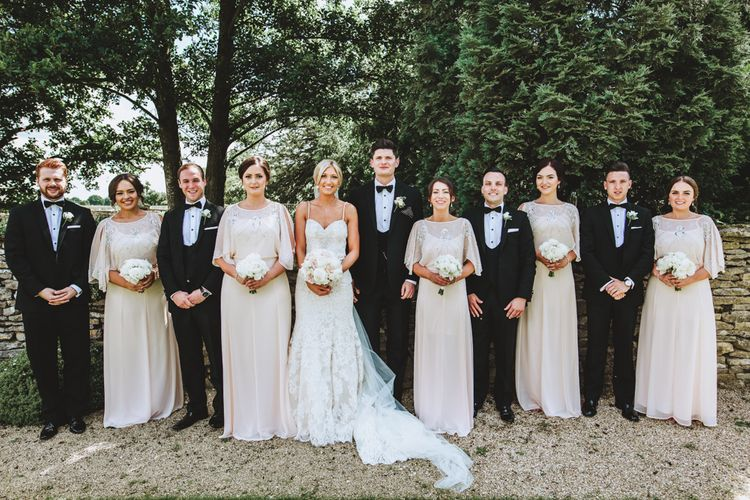Elegant & Classic Wedding Party Look