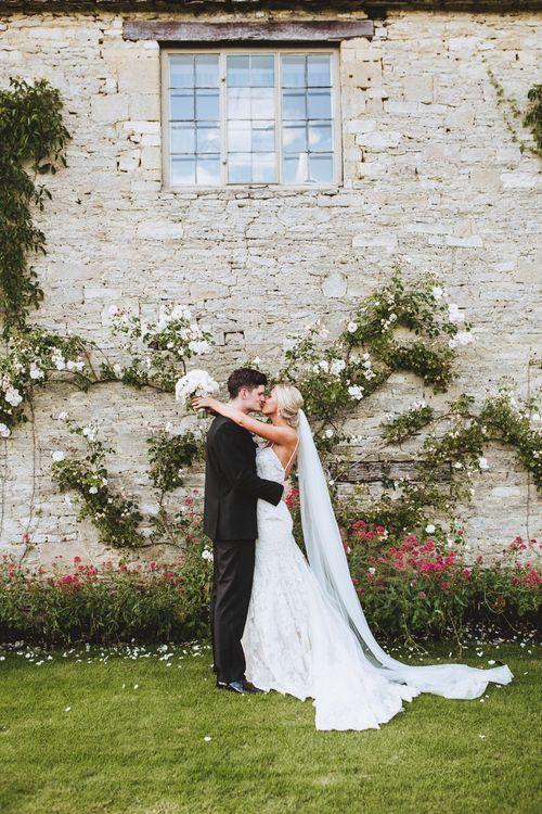 Bride in Kenneth Winston & Groom in Black Tie