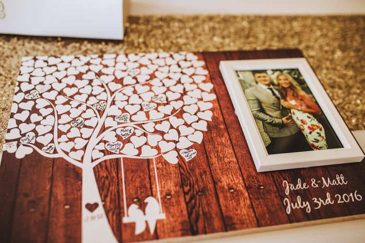Quirky Guest Book For Wedding