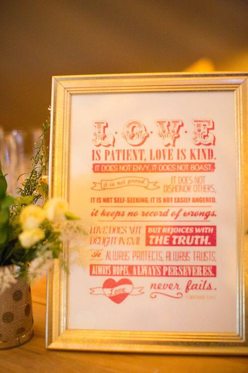 Love Wedding Sign   Wedding Decor