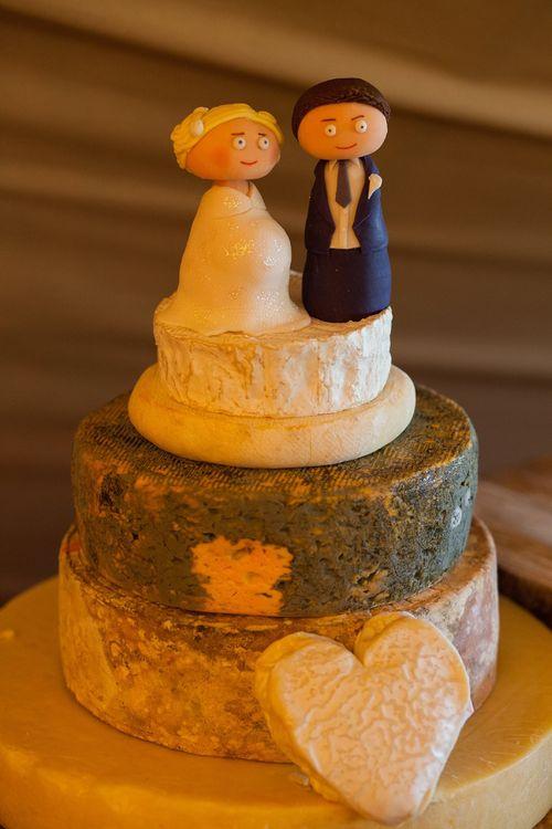 Cheese Tower Wedding Cake