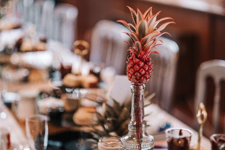 Mini Pineapple Table Centrepieces