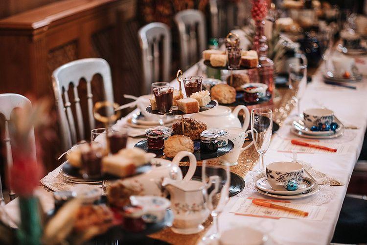 Afternoon Tea For Wedding Reception