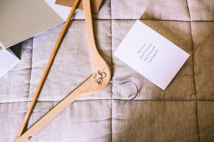 Personalised Hanger & Card