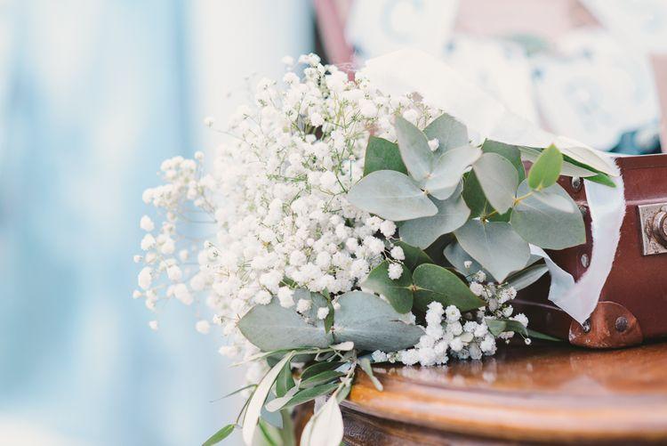 Gypsophila & Eucalyptus Wedding Flowers