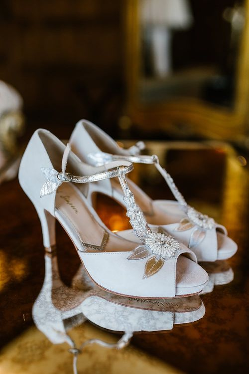 Rachel Simpson Hermione Shoes | Spring Wedding at Hengrave Hall | Katherine Ashdown Photography