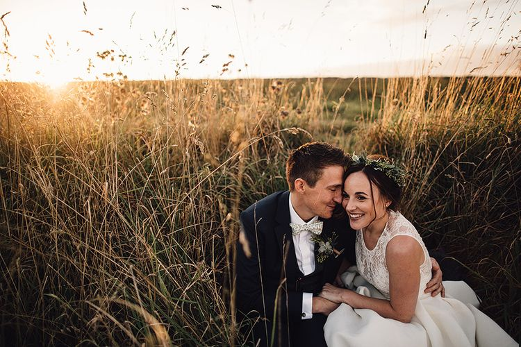 Stylish Autumnal Wedding At Stone Barn Cotwolds With Bride In Jesus Peiro