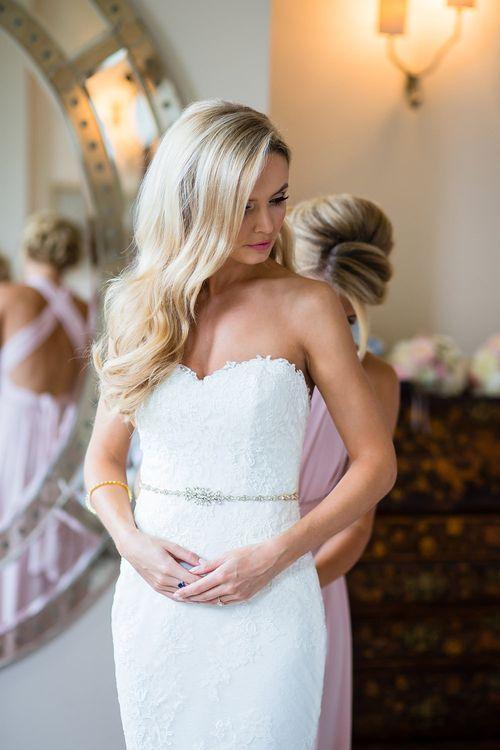 Elegant Bride in Pronovias Wedding Dr