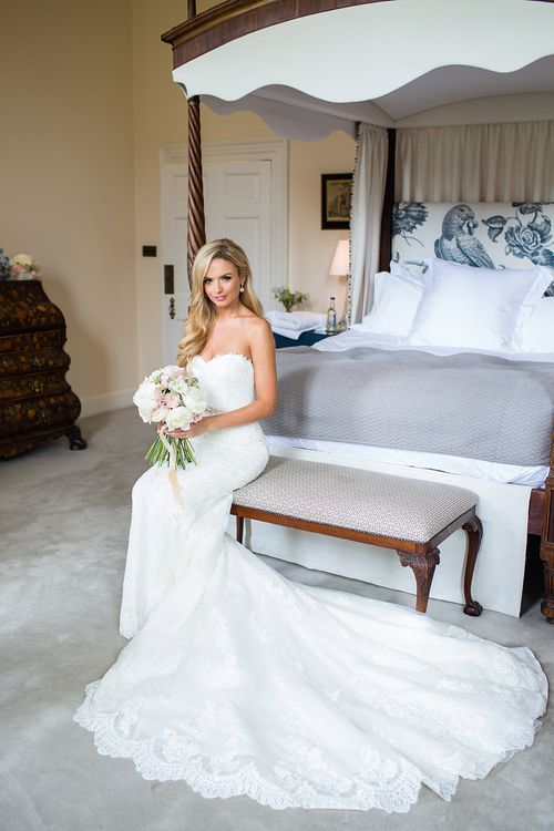 Elegant Bride in Pronovias Wedding D