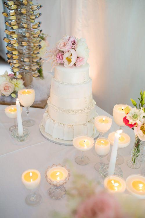 Wedding Cake & Candles