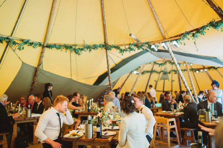 Rustic Tipi Reception