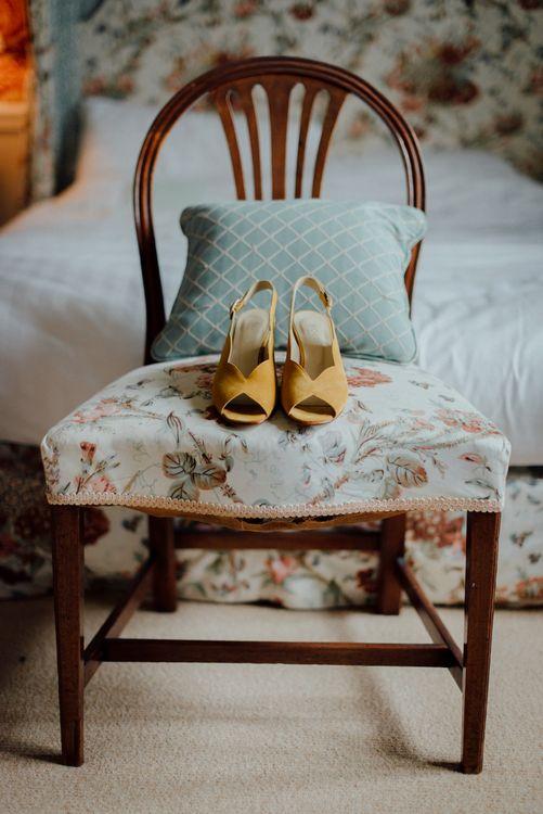 Mustard Yellow Wedding Shoes