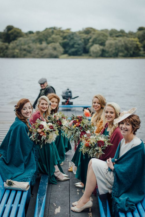 Boat Trip To The Church On Wedding Day