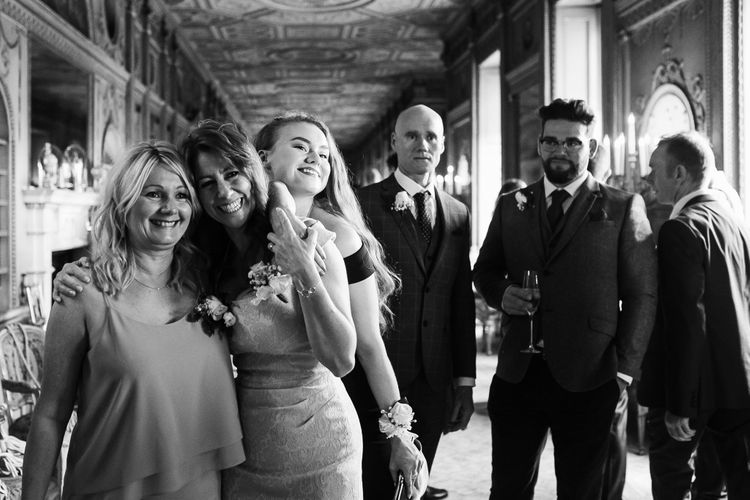 Wedding Guests | Monochrome Wedding at Syon Park London | Chris Barber Photography | Second Shooter Beatrici Photography
