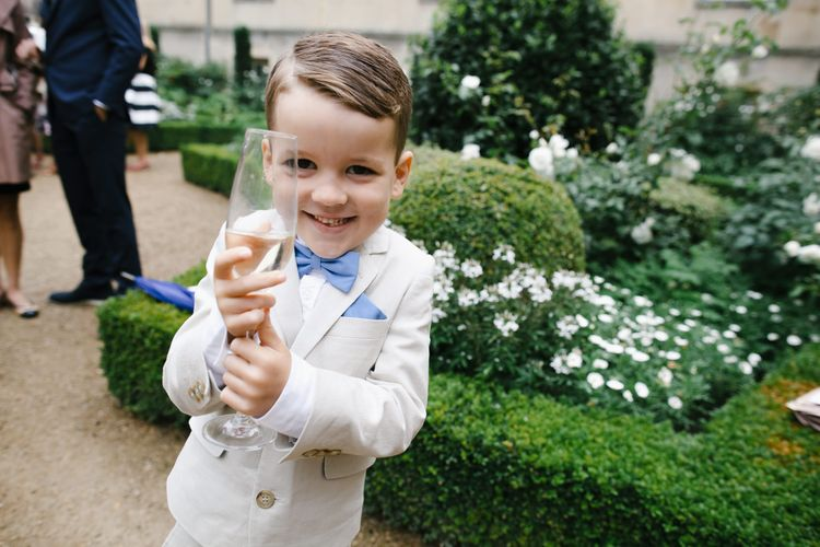 Page Boy | Monochrome Wedding at Syon Park London | Chris Barber Photography | Second Shooter Beatrici Photography