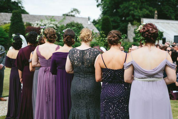 Bridesmaids   Carlowrie Castle, Edinburgh   Scotland Wedding   Images by Fraser Stewart