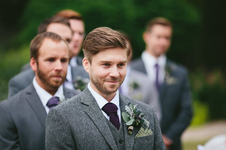 Outdoor Ceremony   Carlowrie Castle, Edinburgh   Scotland Wedding   Images by Fraser Stewart