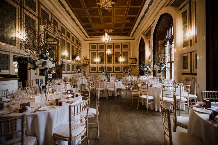Drumtochty Castle Wedding Reception