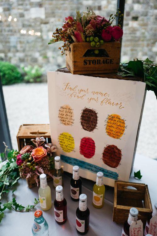 Table Plan   Wedding Favours   Stefano Santucci Studio Photography   Second Shooter Giuseppe Marano   Gattotigre Films