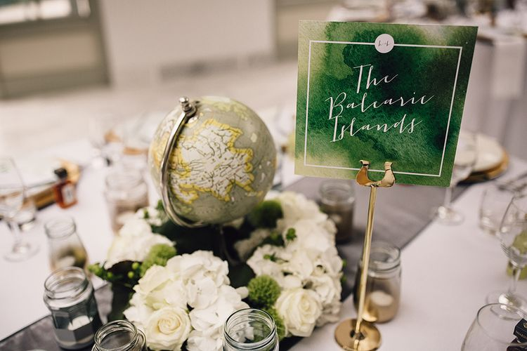 Globe Table Centrepiece