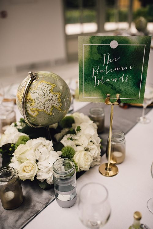 Green Travel Centrepieces