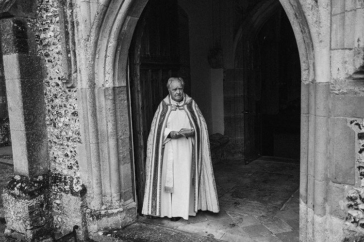 Traditional Church Wedding Ceremony with Blush Colour Scheme   Jason Mark Harris Photography   Harris Films