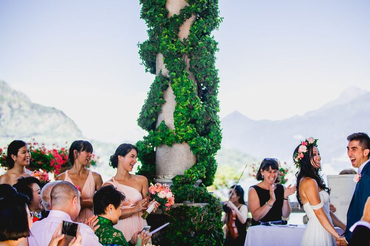 Outdoor Ceremony at Villa del Balbianello