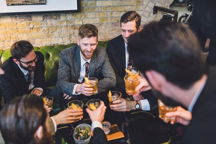 Groom & Groomsmen Pre Wedding Drinks