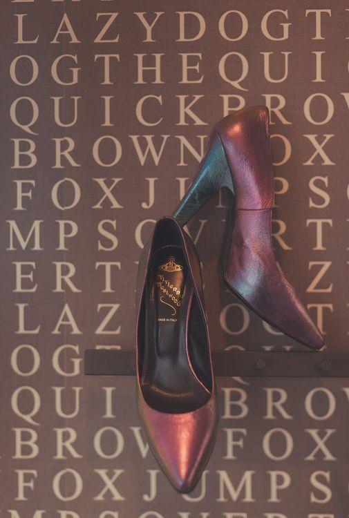 Stylish Vivienne Westwood Bridal Shoes