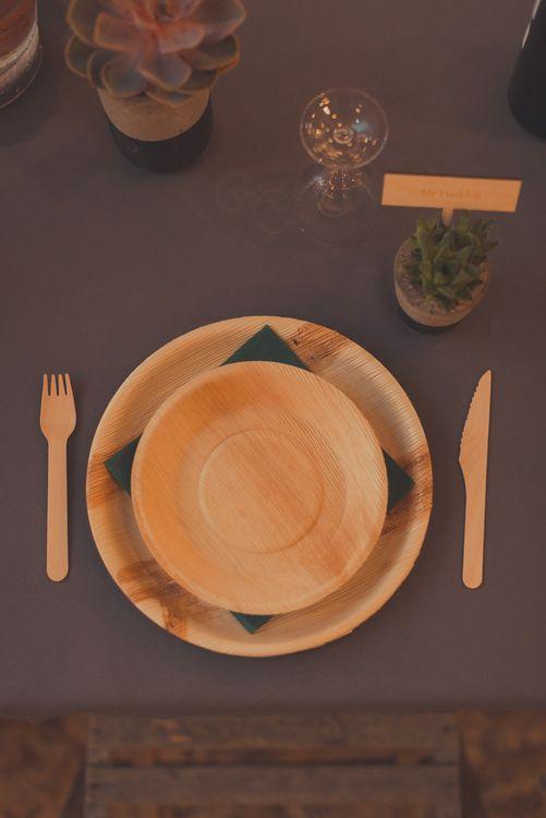 Eco Friendly Plates & Cutlery