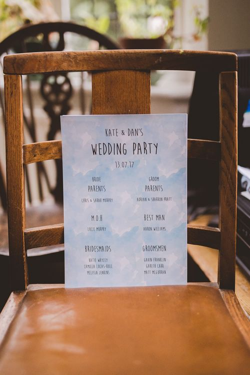 Wedding Stationery | Outdoor Ceremony at Sulgrave Manor Northamptonshire | Nicola Casey Photography