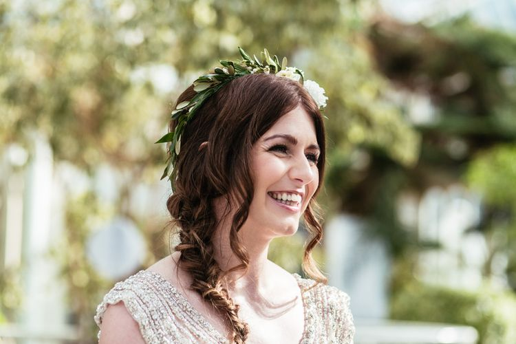 Bridal Braid & Flower Crown