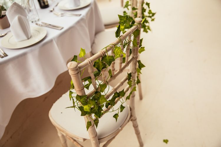 Ivy Laurel Chair Decor