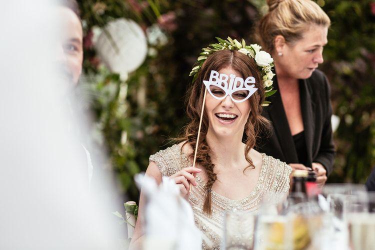 Bride Mask Fun Props
