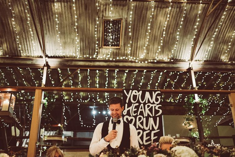 Rustic Luxe Wedding At Cripps Stone Barn
