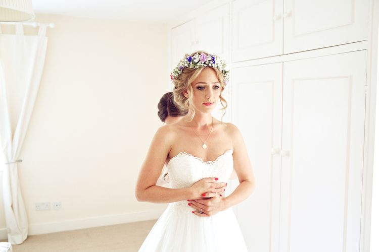 Bride In Essence Of Australia Gown
