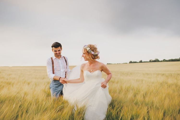 Bride & Groom Golden Hour Portraits By Weddings Vintage