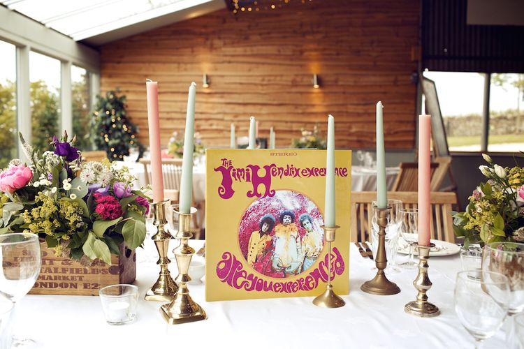 Music Themed Table Centrepieces For Wedding