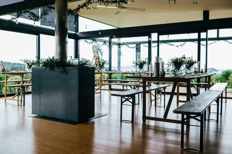 Contemporary Wedding Venue Mann House | New Zealand Wedding | Nigel John Photography
