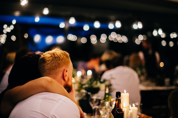 Festoon Lights at Mann House | New Zealand Wedding | Nigel John Photography