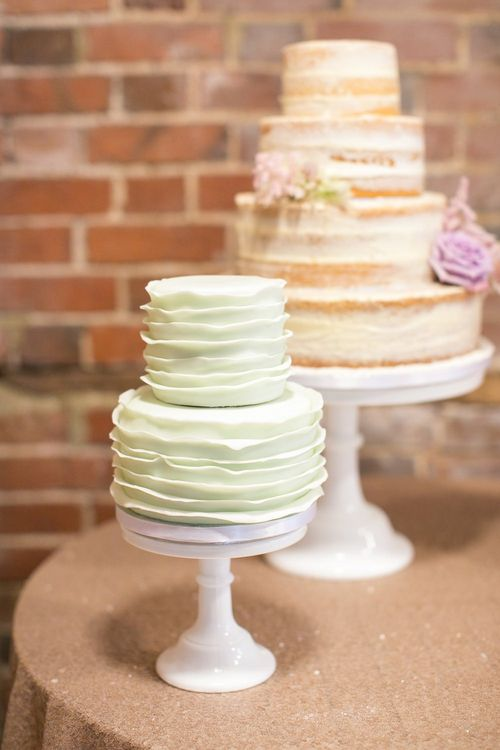 Mint Cream Wedding Cake | Pastel Wedding at Gaynes Park | Anneli Marinovich Photography