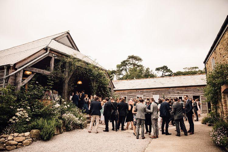 Rustic Barn Wedding at Nancarrow Farm, Cornwall | Samuel Docker Photography