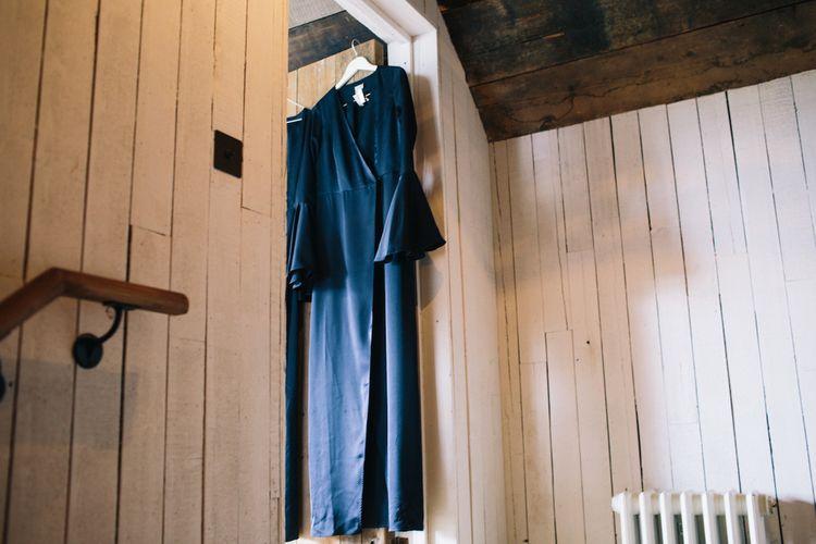 Navy ASOS Bridesmaids gown | Soho Farmhouse | Robbins Photographic