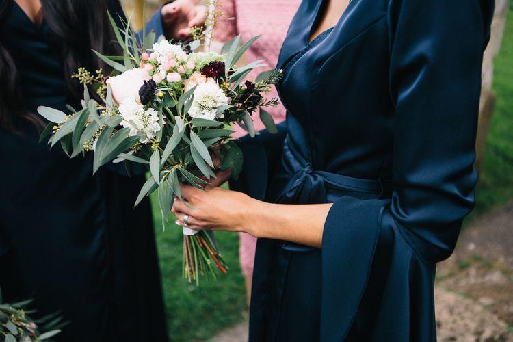 Navy Asos Bridesmaids | Soho Farmhouse | Robbins Photographic
