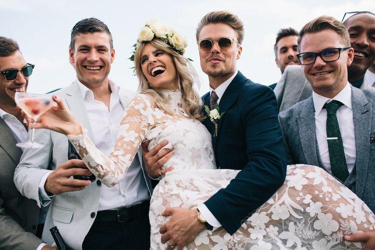 Happy Group Shot | Soho Farmhouse | Robbins Photographic