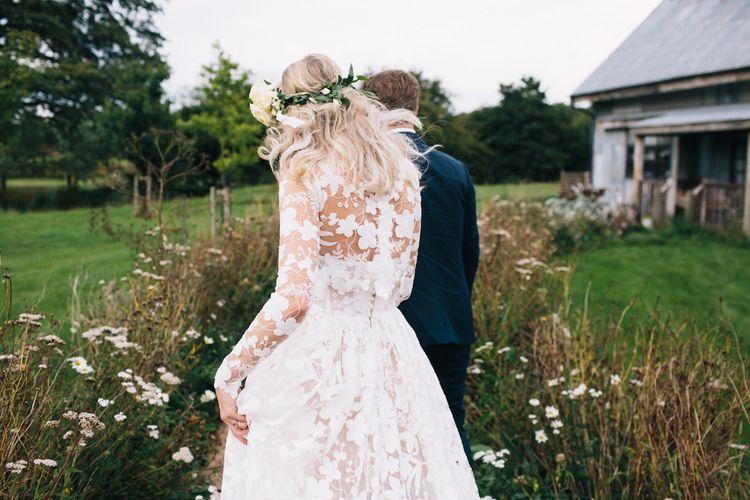 That dress! | Jesus Peiro | Morgan Davies | Soho Farmhouse | Robbins Photographic