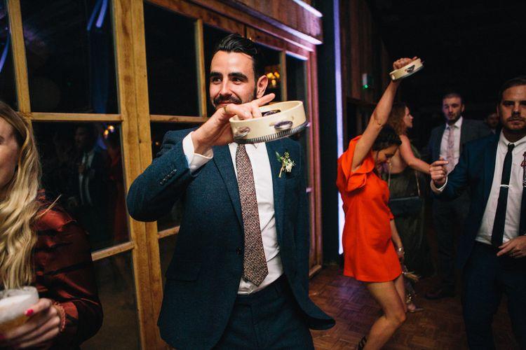 Dancing at the Reception | Wedding Smashers | Soho Farmhouse | Robbins Photographic