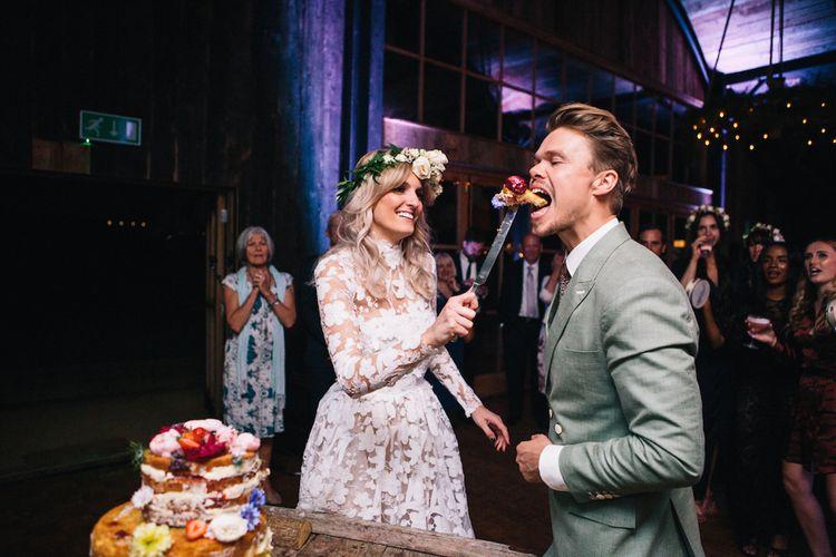 Cake | Mae and Harvey | Soho Farmhouse | Robbins Photographic