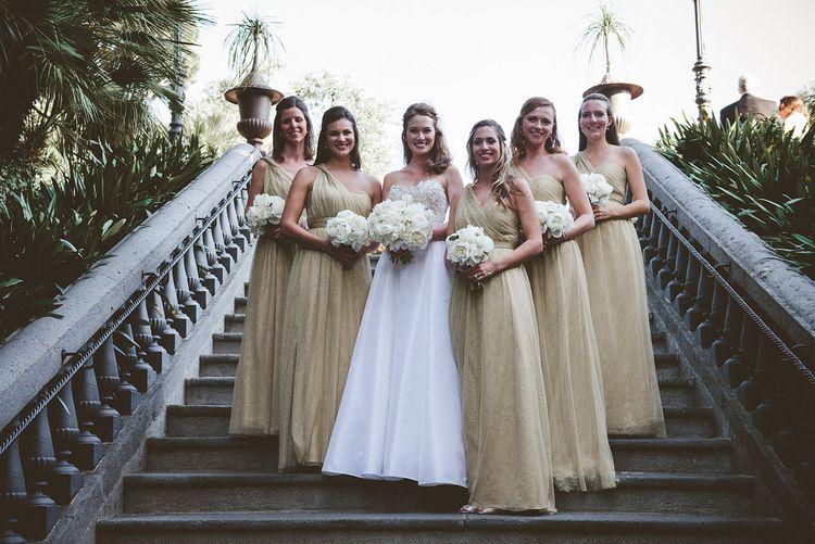 Gold Bridesmaid Dresses from Jenny Yoo