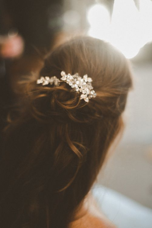 Anthropologie Jewelled Hairpiece